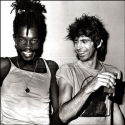 Peter Tosh & Keith Richards