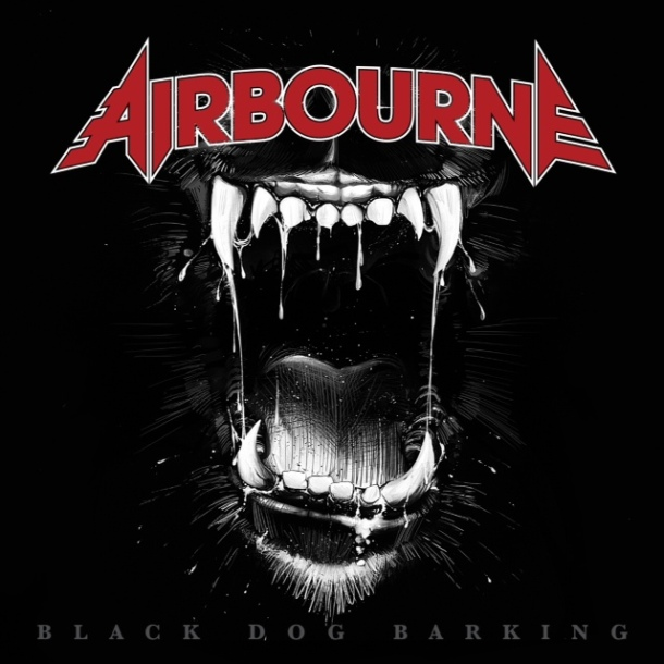 Airbourne: Black Dog Barking cover