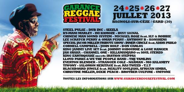 Line up 2013