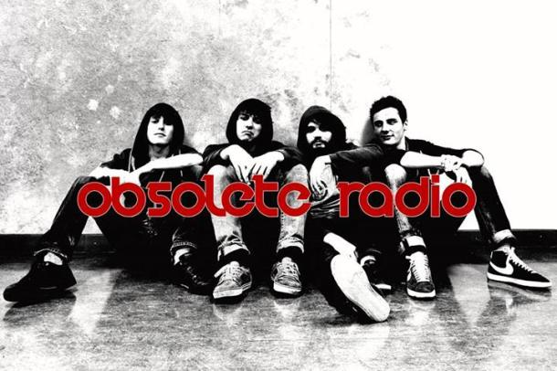 Obsolete Radio: De g. à dr. Nico, Hugo, Yohann et François.