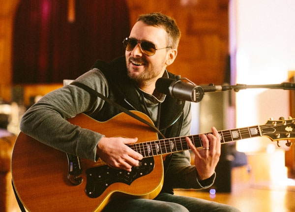 Eric Church, nouveau challenger de la country ©Reid Long