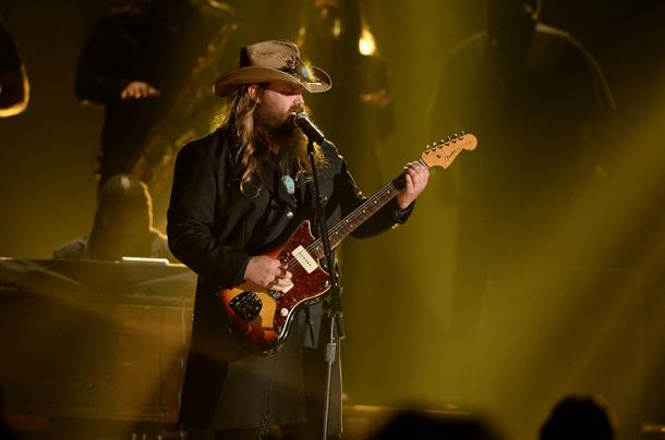 Chris Stapleton et son blues-country-rock est devenu le New Artist of the Year à presque 40 ans. (Crédits Photo : Disney/ABC Television)