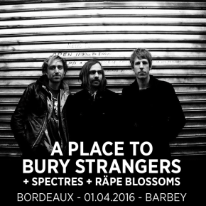 A Place To Bury Strangers: live report du concert de Barbey