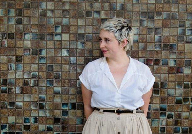 Allison Crutchfield de l'époque de Swearin' (crédits : droit réservés)