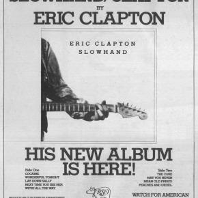 Dans le rétro : le magistral Eric Clapton dans «Slowhand»