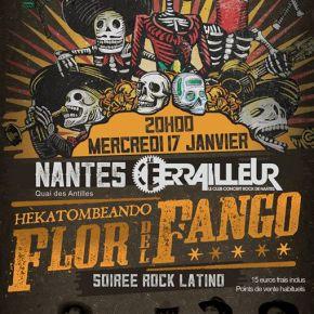 Report : Flor del Fango – Le Ferrailleur, Nantes(17/01/2018)